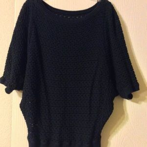 Black sweater gently used.